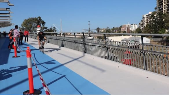 Payouts to cyclists mount as more slip on resurfaced Goodwill Bridge