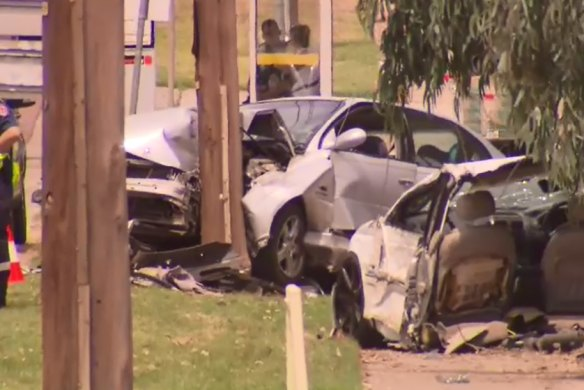 'It was pretty scary seeing a car cut in half': Teenager killed in horrific smash