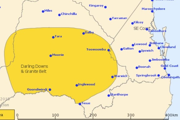 Storm threat eases in south-east Queensland as rain records broken in north