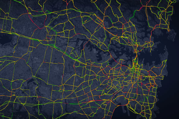 How Sydney's peak hour has become an all-day affair