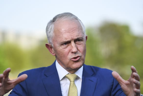 Malcolm Turnbull admits 'political mistake' on bank royal commission