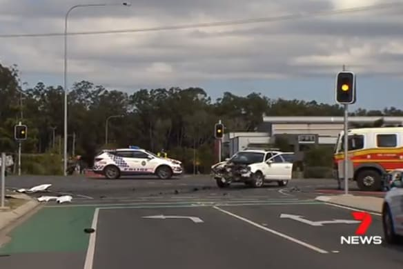 Motorcyclist dies after collision with car north of Brisbane