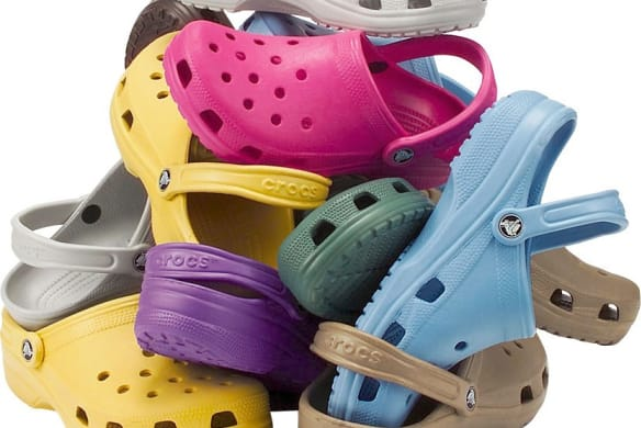 The internet hates Crocs' high heels, but that's good for the company