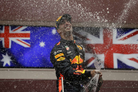 'I'm stoked': Ricciardo wins Monaco Grand Prix