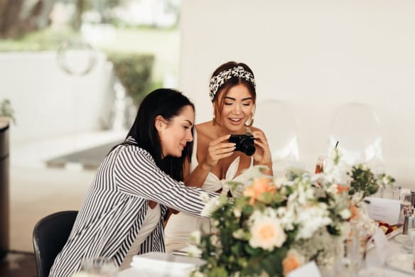 Social Seen: Chloe Morello and Pia Muehlenbeck?at the Neutrogena breakfast at Catalina, Rose Bay, on Tuesday, February 20.