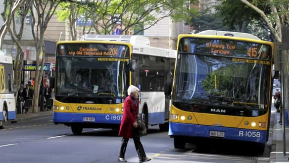 Real-time data for council buses down on TransLink website, app