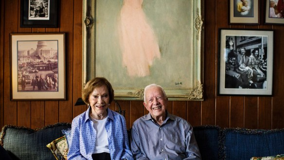 At the age of 93, Jimmy Carter is eager for a Trump posting