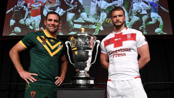 Let battle commence: The World Cup kicks off in Melbourne on Friday with Australia taking on England, who are coached by Wayne Bennett.
