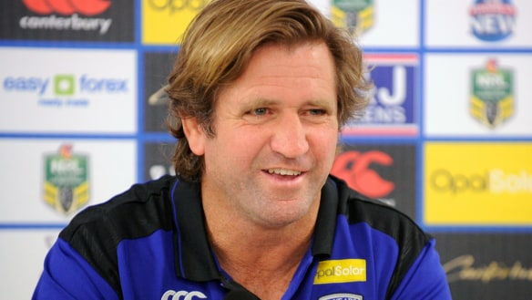 Dog days: Des Hasler experienced both highs and lows in his time at Canterbury.