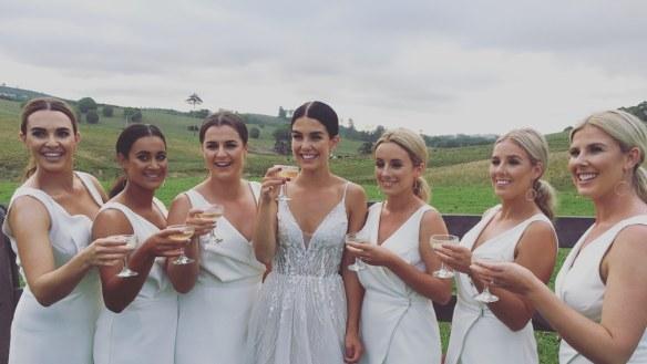 Canberra Raiders captain Jarrod Croker marries 'love of my life' Brittney Wicks