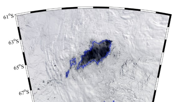 Return of 'ocean chimney' the size of Tasmania puzzles Antarctic scientists