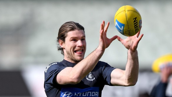 Carlton Blues stand firm on Bryce Gibbs
