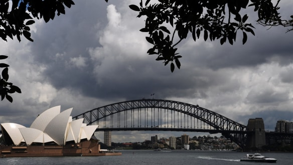 Heavy rain is on the way for Sydney after months of dry weather