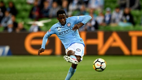 Melbourne City grind into gear to start A-League season with win over Brisbane Roar