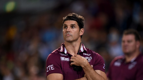Manly Sea Eagles set to finalise Trent Barrett contract extension 'imminently'
