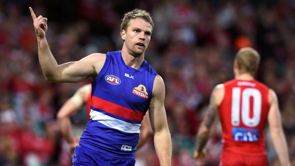 Jake Stringer move to Essendon hanging on a thread