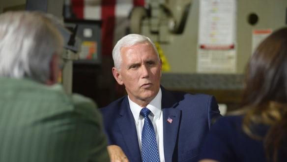Donald Trump mocks Mike Pence: 'He wants to hang all gay people'