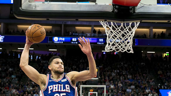 NBA: Ben Simmons chases history, inspires next generation of Aussie basketballers