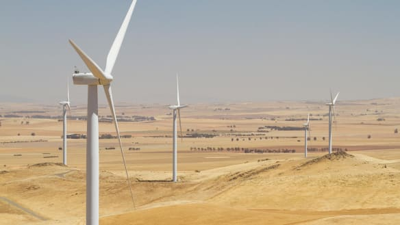Mining the wind provides drought insurance for outback farmers in Silverton and Broken Hill