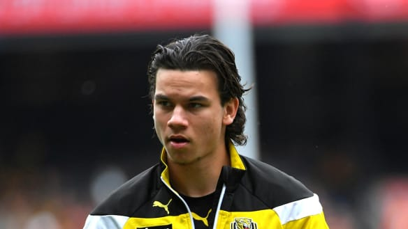 Young Tiger Daniel Rioli set to start running again after foot surgery