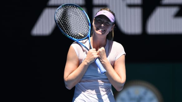 Maria Sharapova to attack Angelique Kerber challenge without fear