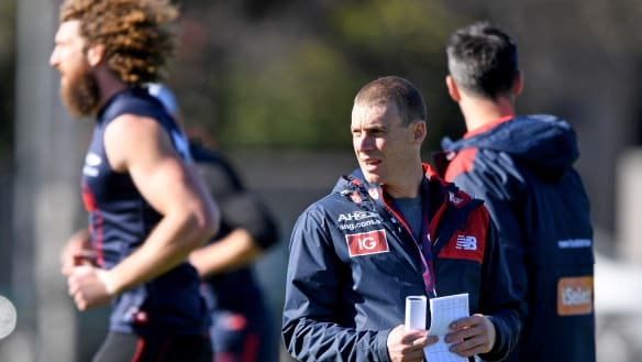 Simon Goodwin lauds Demons after boot camp controversy