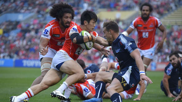 Sunwolves edge Bulls to score first Super Rugby win of the season