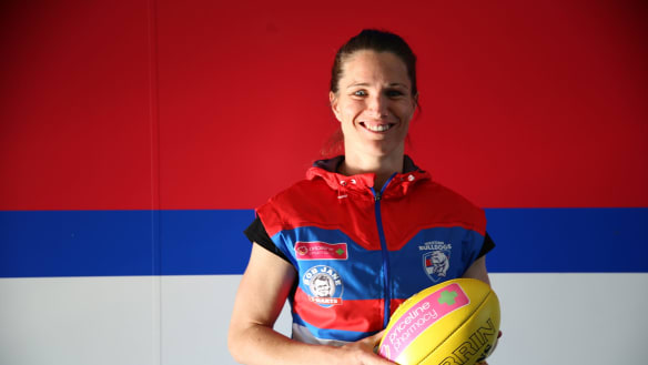 AFLW: Western Bulldogs' Emma Mackie on the ride of her sporting life