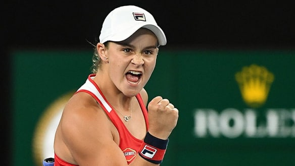 Australian Open 2018: Ashleigh Barty can ponder her first fourth round at a major