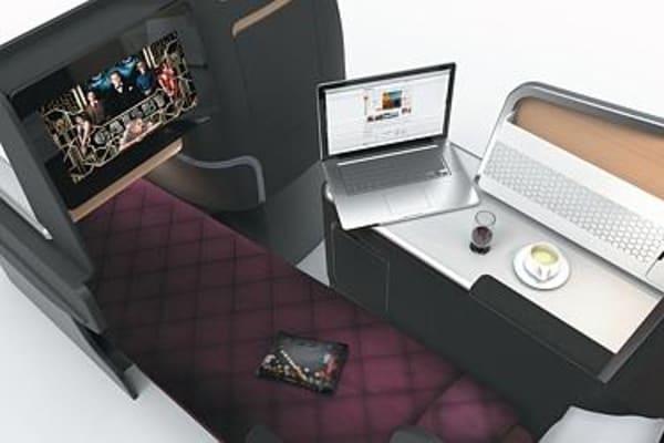 Qantas Airways new business suite