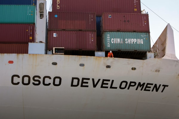 COSCO Shipping shares climb after bid to become third