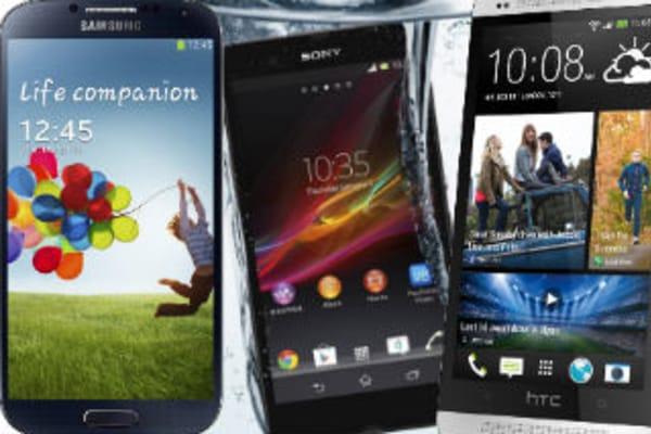 Samsung Galaxy S4 v the rest