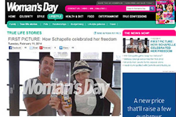 Woman 39 S Day Publishes First Schapelle Corby Picture