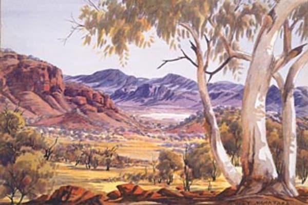 H Burns Oil Painting