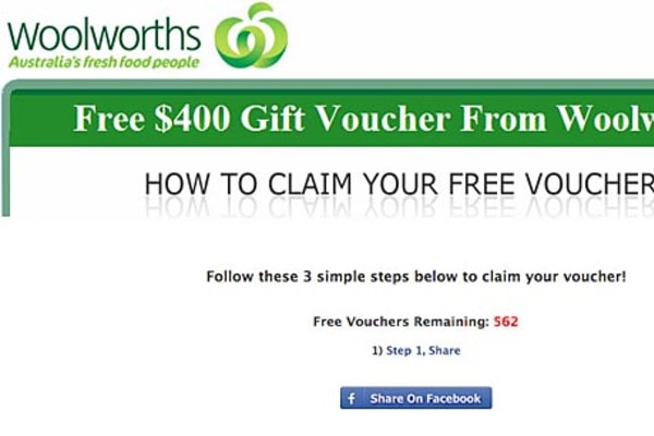 Retailer warns of scam gift voucher negle Choice Image