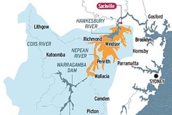 When Sydney's rivers run high