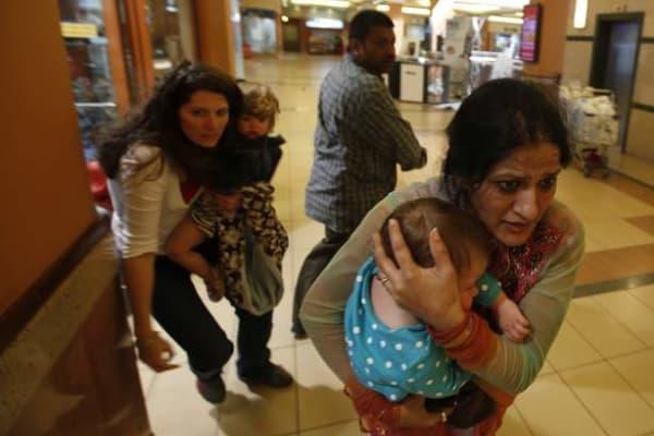 Mother of toddler who berated Kenyan terrorists speaks