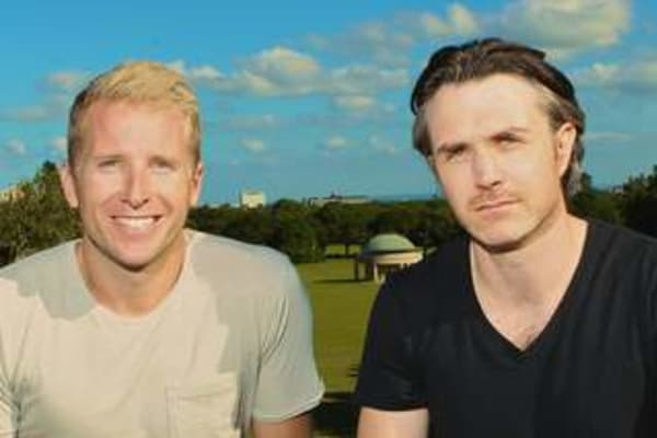 Two Of Us Hamish Macdonald And Ben Emery