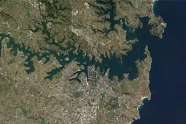 Amazing time-lapse satellite views of Australia