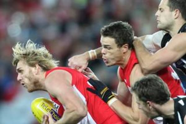 swans vs collingwood - 600×400