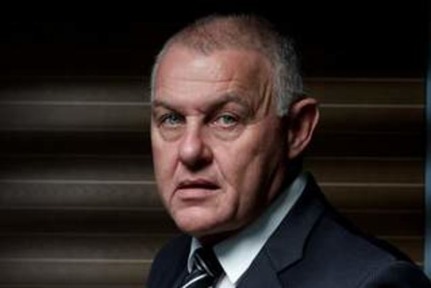 Homicide cop Ron Iddles prepares for Victorian Police