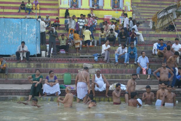 The Ganges: holy river from hell