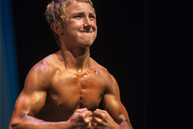 Meet Jake Schellenschlager, the 14-year-old who can lift
