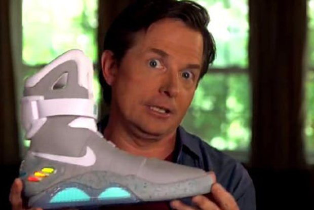 back to the future nike trainers price