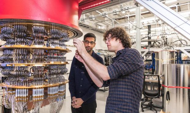 Google's quantum computer machine