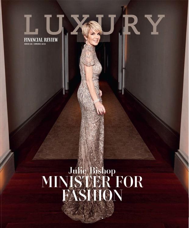How Julie Bishop used fashion for politics
