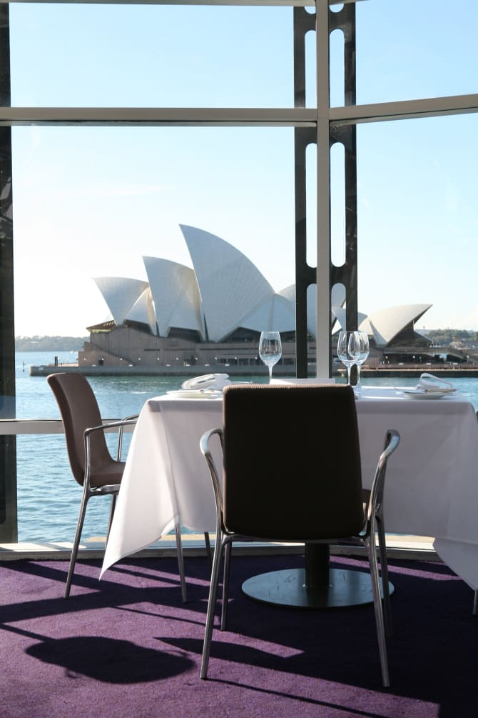"""The former Quay restaurant: """"People always asked me, 'When are you updating the dining room?'"""" says Peter Gilmore."""
