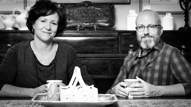 Alan Chambers and wife Leslie.