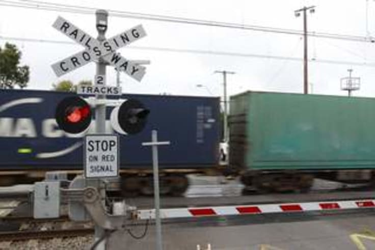 There are around 41 freight trains that pass through Kalgoorlie regularly.