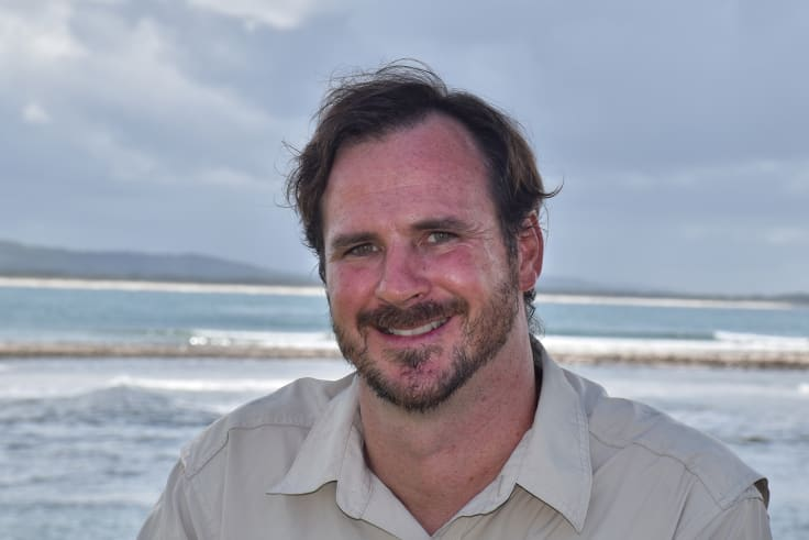 Oceanographer Daniel Harrison is researching whether clouds over the Great Barrier Reef could be 'brightened' to deflect the sun's rays and help curb rising sea temperatures.